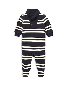 Ralph Lauren - Boys' French-Rib Shawl-Collar Coverall - Baby