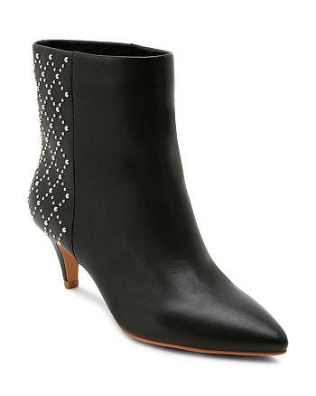 Dolce Vita - Women's Dot Studded Kitten Heel Booties