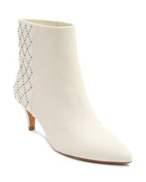 Dolce Vita Women's Dot Studded Kitten Heel Booties
