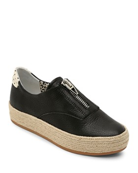 Dolce Vita - Women's Trae Leather Platform Sneakers
