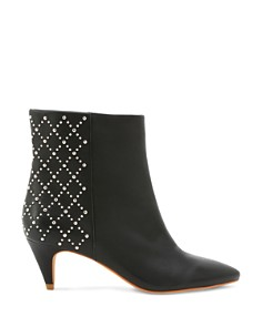 Dolce Vita - Women's Dot Studded Kitten Heel Booties