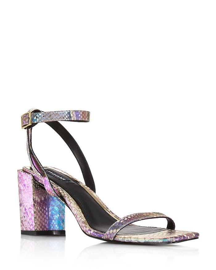 a186908e2 JAGGAR - Women s Essential Snake-Print Block Heel Sandals