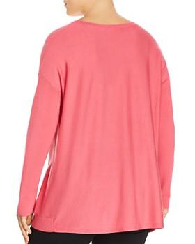 Eileen Fisher Plus - Drop Shoulder Sweater
