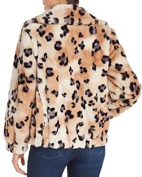 Rebecca Taylor - Leopard Faux-Fur Coat