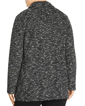 Eileen Fisher Plus - Marled Double Breasted Blazer