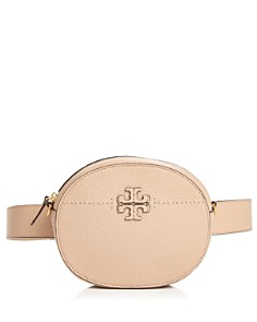 Tory Burch - McGraw Round Leather Convertible Crossbody