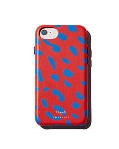 Clare V. - Blue Spot iPhone 6/7/8 & 6/7/8 Plus Case