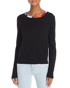 Splendid - x Margherita Colore Color-Block Trim Sweater