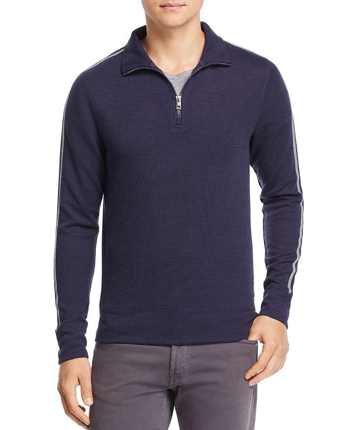 Michael Kors - Double-Knit Quarter-Zip Sweater - 100% Exclusive