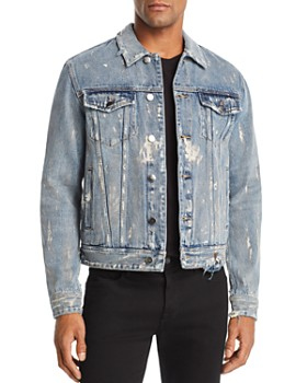 GUESS - Rex Graffiti Denim Jacket
