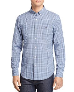 Vineyard Vines - Tucker Gingham Slim Fit Button-Down Shirt