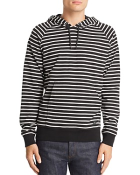 PS Paul Smith - Striped Hooded Sweatshirt