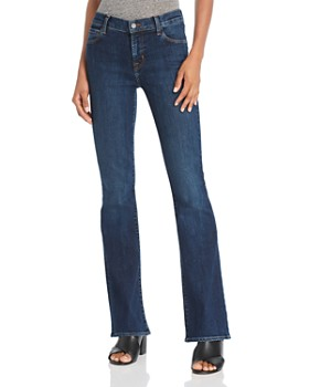 J Brand - Selena Mid Rise Bootcut Jeans in Reprise