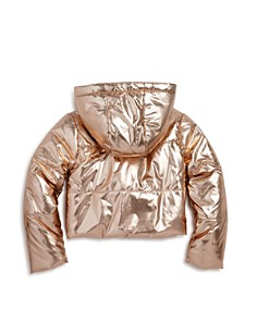 Bardot Junior - Girls' Alexa Metallic Puffer Coat - Big Kid
