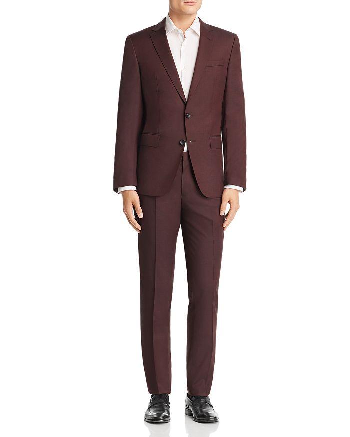 BOSS Hugo Boss - Huge/Genius Semi-Solid Slim Fit Wool Suit