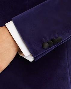 HUGO - Helward Velvet with Satin Lapel Slim Fit Tuxedo Jacket