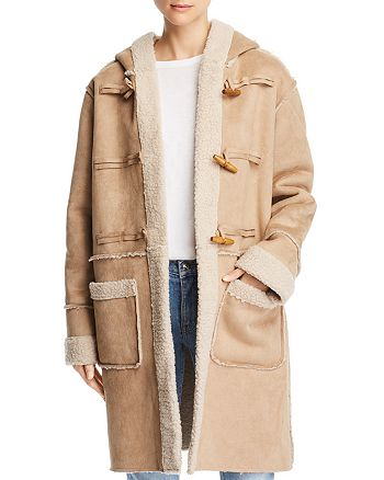 Sage the Label - Now or Never Hooded Toggle Coat