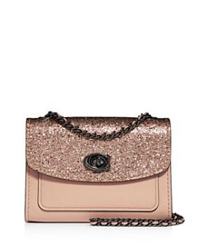 28a3dff11610 COACH - Parker 18 Glitter Convertible Shoulder Bag ...