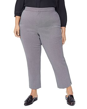 NYDJ Plus - Printed Straight Pants