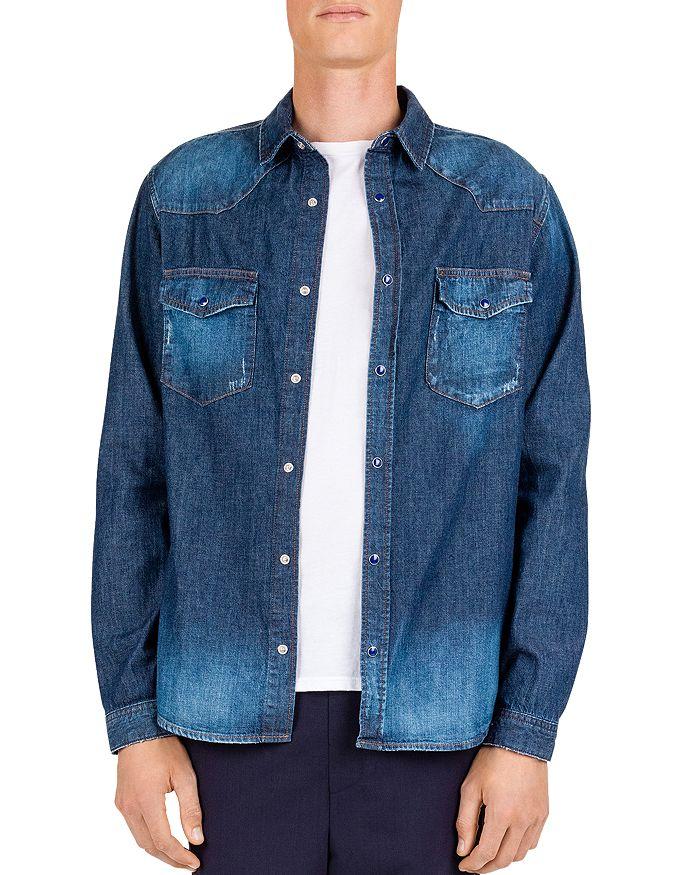 5fd3211eae The Kooples - Japanese Denim Regular Fit Shirt