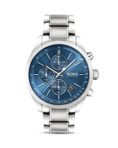BOSS Hugo Boss - Grand Prix Blue Chronograph, 44mm