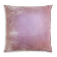 "Kevin O'Brien Studio - Colorblock Velvet Decorative Pillow, 22"" x 22"""