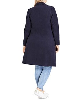 City Chic Plus - Mid Length Coat