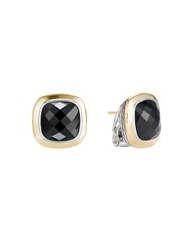 David Yurman Albion Stud Earrings With 18k Gold Black Onyx