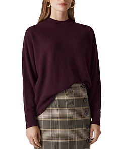 Whistles - Dolman-Sleeve Cashmere Sweater