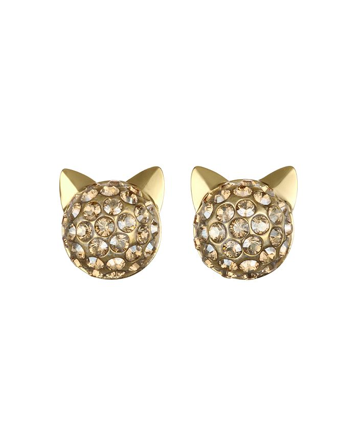 KARL LAGERFELD Paris - Crystal Choupette Earrings