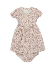 Ralph Lauren - Girls' Cotton Floral Dress & Bloomers Set - Baby