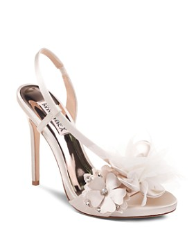Badgley Mischka - Women's Forever Embellished High-Heel Sandals