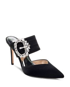 2610a0c7615 VINCE CAMUTO Women s Ledana Studded Ankle Strap Pumps