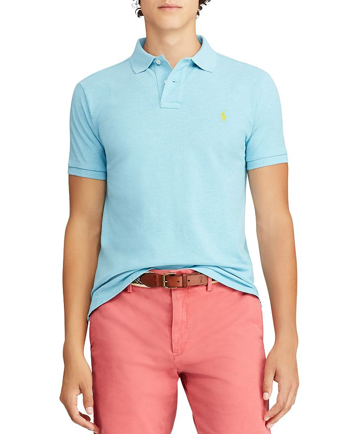 Polo Ralph Lauren - Custom Slim Fit Mesh Short Sleeve Polo Shirt
