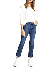 Sanctuary - Modern Standard Straight Ankle Jeans in Elysian Blue