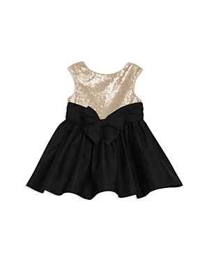 Pippa  Julie Girls Sequin Contrast Bow Dress  Baby