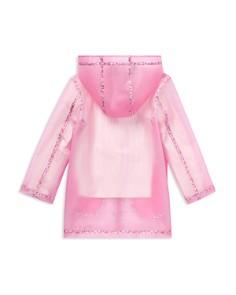 Ralph Lauren - Girls' Floral-Trimmed Raincoat - Big Kid