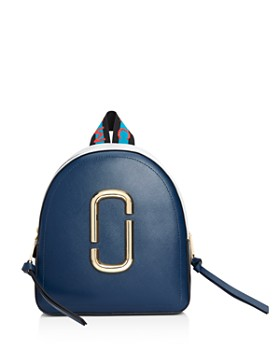 afa09ac4c8d5 MARC JACOBS - Pack Shot Color Block Leather Backpack ...