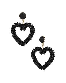 BAUBLEBAR - Amissa Heart Drop Earrings