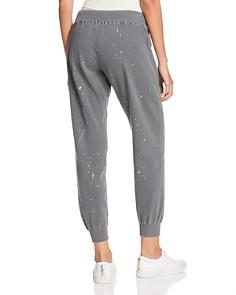 Monrow - Foil Splatter Print Sweatpants