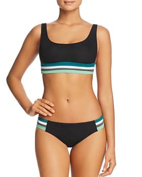 BECCA® by Rebecca Virtue - Ribbed Bikini Top & Ribbed American Bikini Bottom