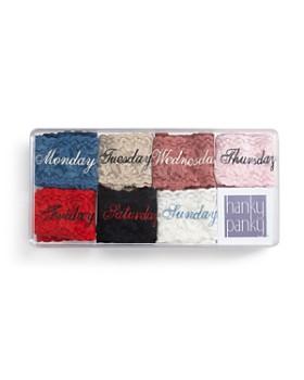 Hanky Panky - Days of the Week Original-Rise Thongs, Set of 7