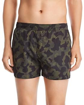 b7a50cfa5 HUGO - Grenada Camouflage-Print Swim Shorts ...