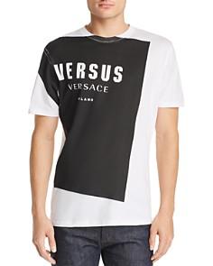 Versus Versace - Logo Block Graphic Tee
