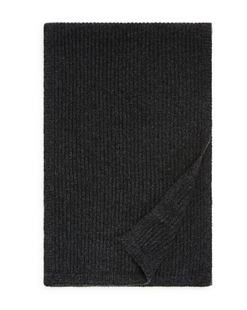 The Men's Store at Bloomingdale's - Ribbed Cashmere Scarf - 100% Exclusive