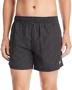 BOSS - Pike Polka Dot-Print Swim Shorts