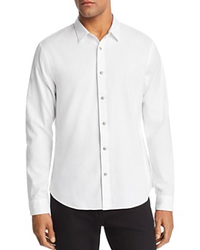 John Varvatos Star USA - Clean Snap-Front Regular Fit Oxford Shirt