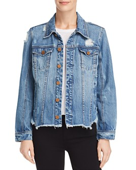 BLANKNYC - Distressed Denim Jacket - 100% Exclusive