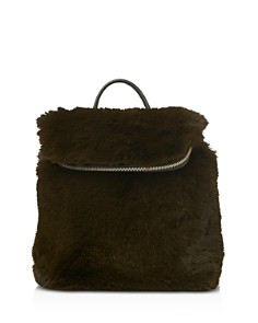 Whistles - Verity Mini Faux Fur Backpack