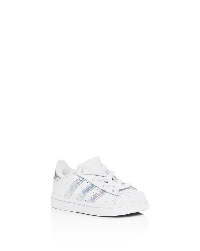Adidas - Unisex Superstar Low-Top Sneakers - Walker, Toddler